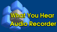 what you hear audio recorder logo